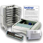 Brother Printer Accessories & Warranties