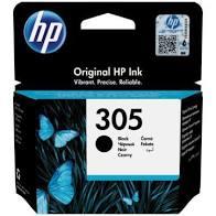 HP  # 305 Black Original Ink Cartridge -  2720/4120