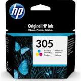HP  # 305 Tri-color Original Ink Cartridge -  2720/4120