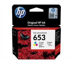 HP DeskJet Plus Ink Advantage 6075 AiO HP 653 Tri-color Original Ink Advantage Cartridge - HP 6075/6475