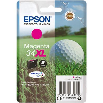 Epson  Magenta 34XL DURABrite Ultra Ink Cartridge (950 Pages)