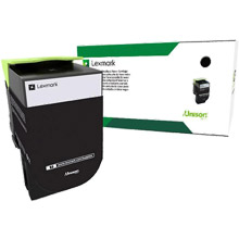 Lexmark  708K Black Return Program Toner Cartridge (1,000 Pages)