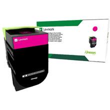Lexmark  708M Magenta Return Program Toner Cartridge (1,000 Pages)