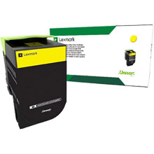 Lexmark  708Y Yellow Return Program Toner Cartridge (1,000 Pages)