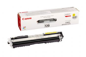 Canon Lbp 7010 Yellow 729 Toner Cartridge 1 000 Pages