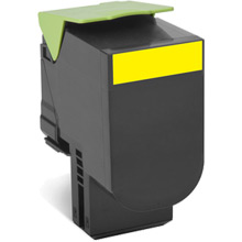 Lexmark 708HY Yellow High Cap RP Toner Cartridge (3,000 pages)