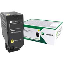 Lexmark  Yellow Return Programme Toner Cartridge (10,000 pages)