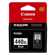 Canon Black PG-440XL High Yield Ink Cartridge (550 Pages)