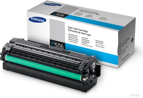 Samsung CLT-C506L High Yield Cyan Toner Cartridge (3500 PAGES)