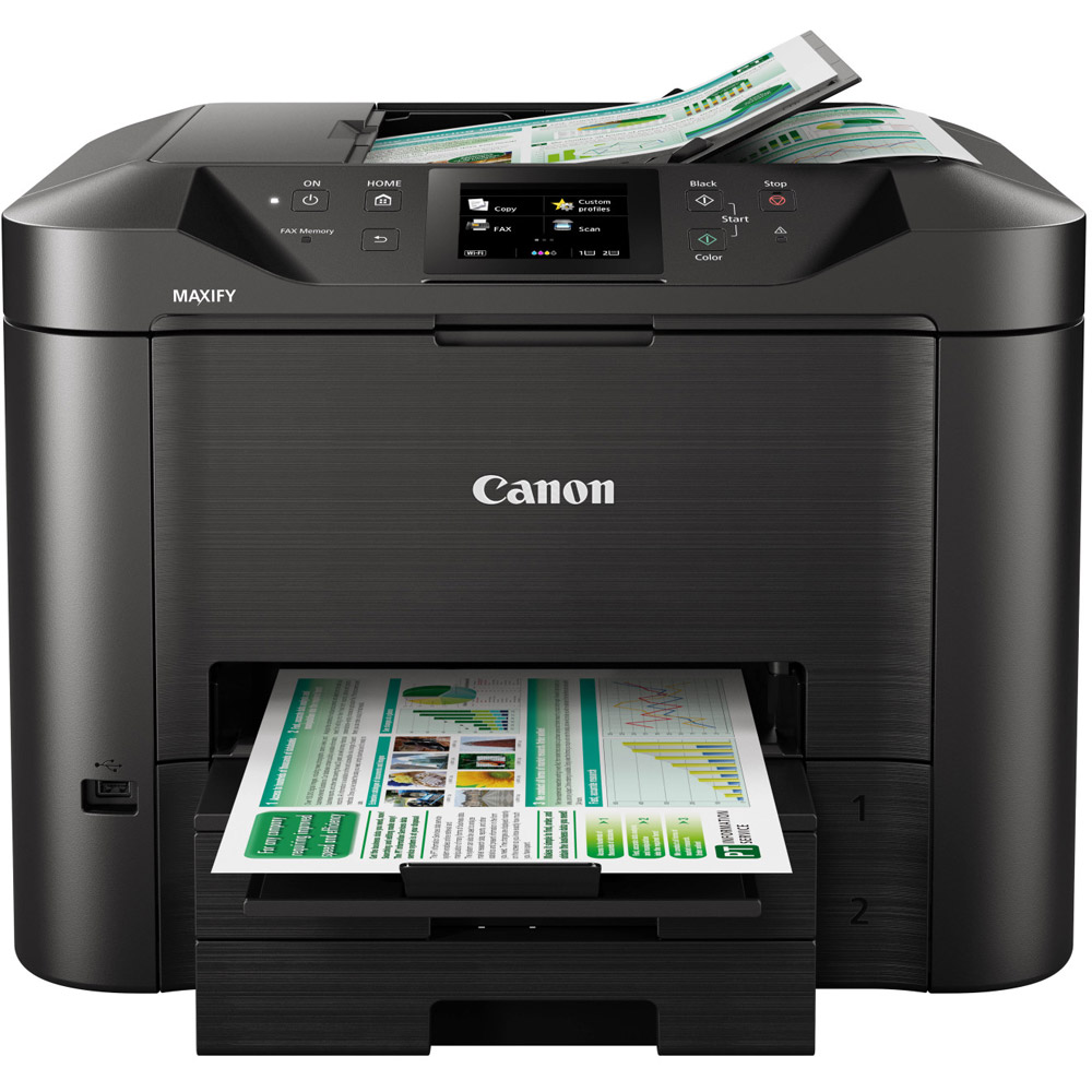 Canon Maxify Mb5440 A4 Colour Multifunction Inkjet Printer