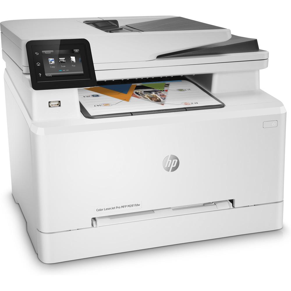 Hp Color Laserjet Pro Mfp M281fdw A4 Colour Multifunction