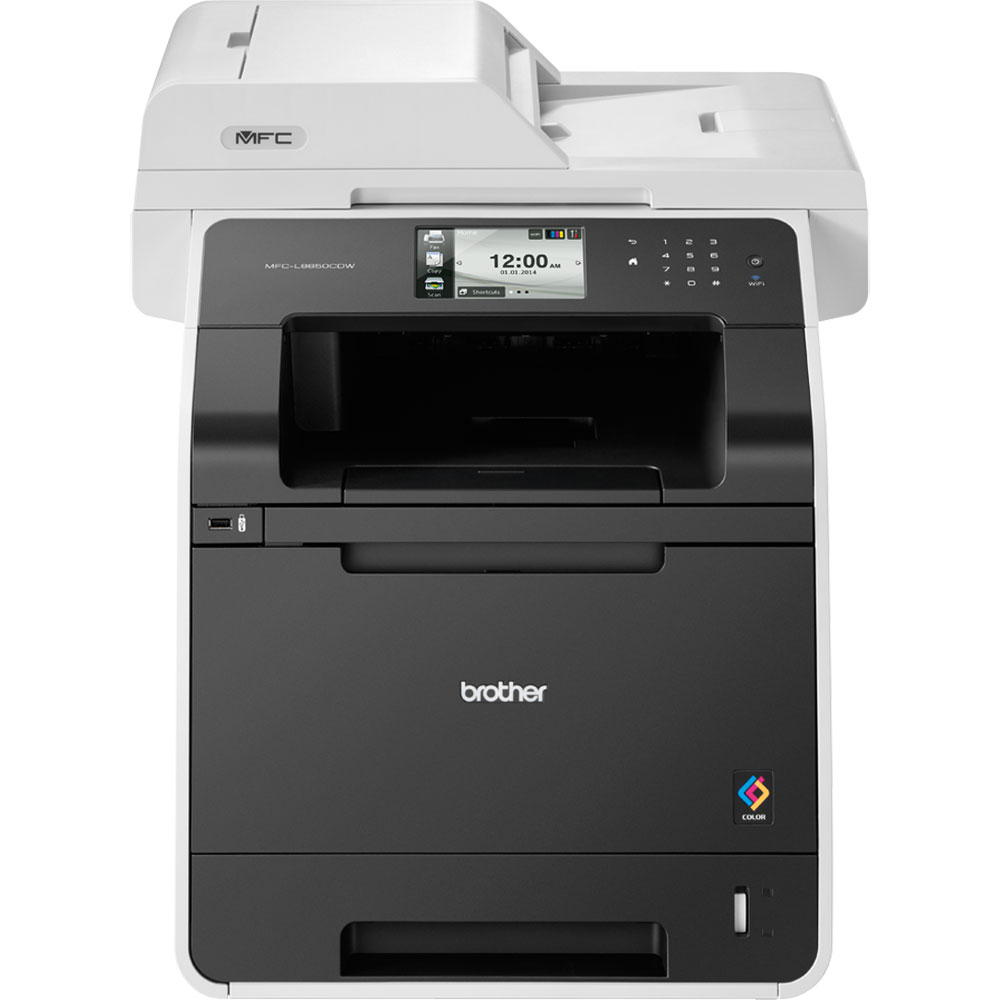 Brother Mfc L8850cdw A4 Colour Multifunction Laser Printer