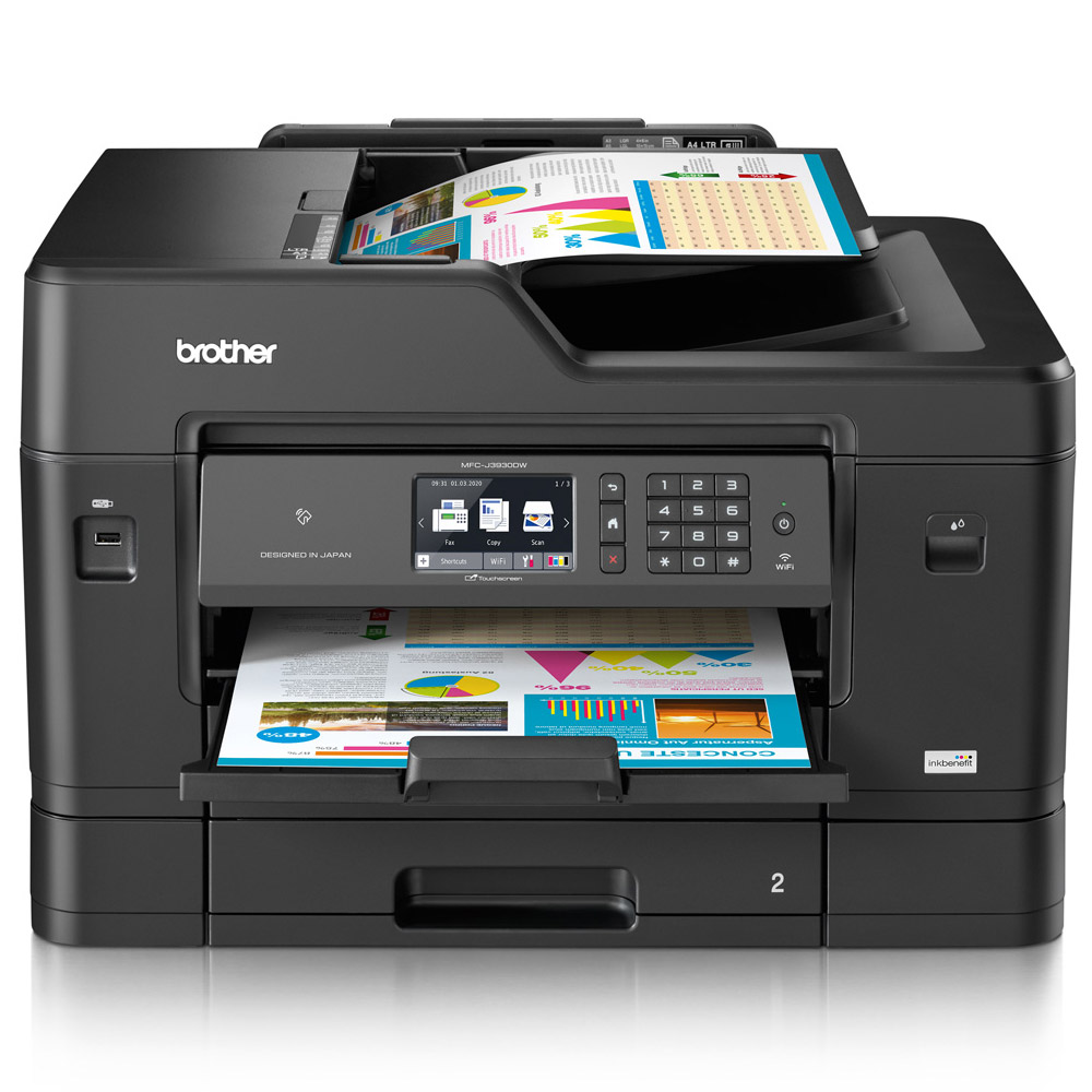 Brother Mfc J3930 A3 Colour Multifunction Inkjet Printer