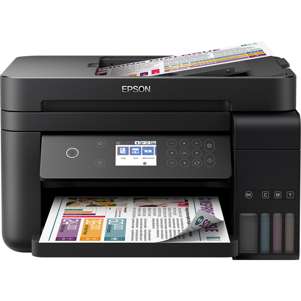 Epson Its Ecotank L6170 A4 Colour Multifunction Inkjet Printer