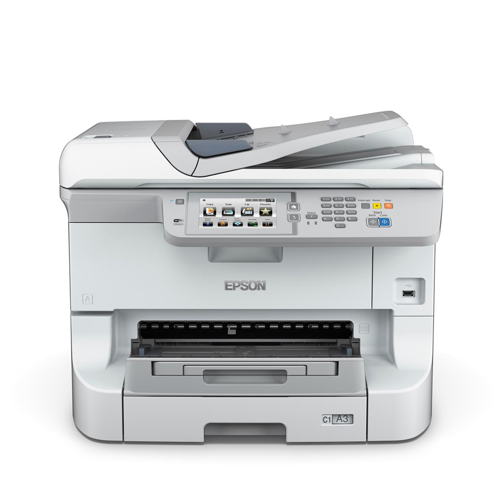 Epson Workforce Pro Wf 8590dtwf A3 Colour Multifunction