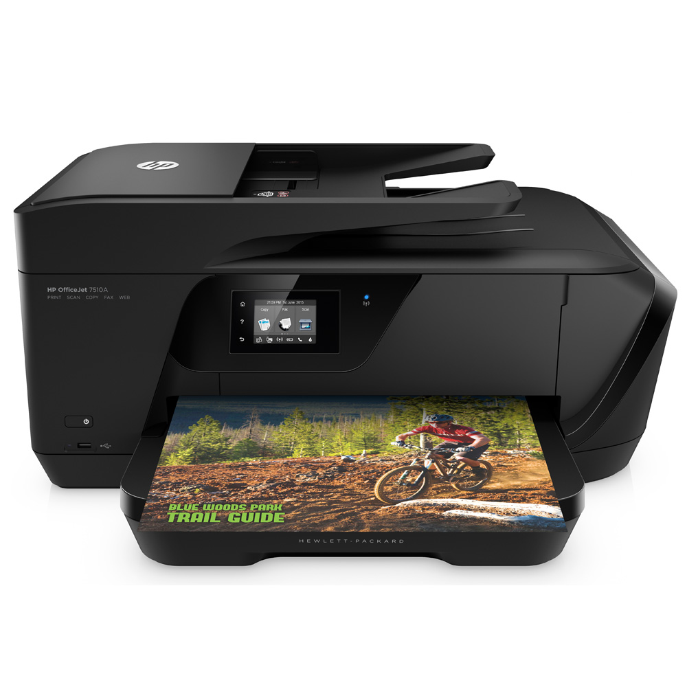 Hp m750 color printing cost per page - Hp Officejet 7510