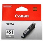 Canon PIXMA iP7240 CLI-451XL High Yield Grey Ink Cartridge (3350 pages)