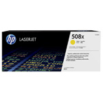 HP Color Laserjet Enterprise M552dn 508A Yellow Toner Cartridge (5,000 pages)
