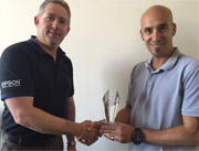 Printerland Receives EPSON Top Reseller Award